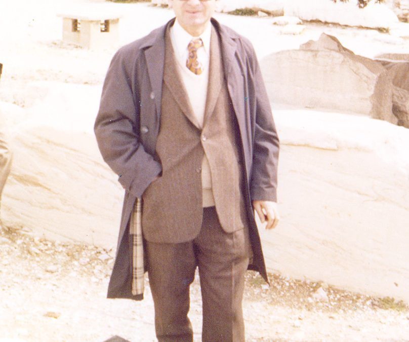 Ο καθηγητής Ιστορίας Τηλέμαχος Στεριώτης